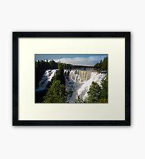 Kakabeka Falls Ontario Framed Print