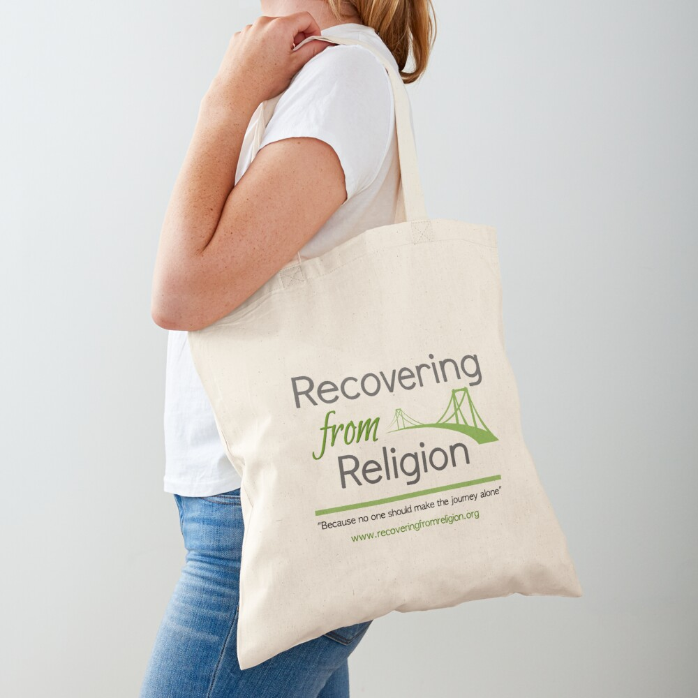Recovering from Religion logo Tote Bag