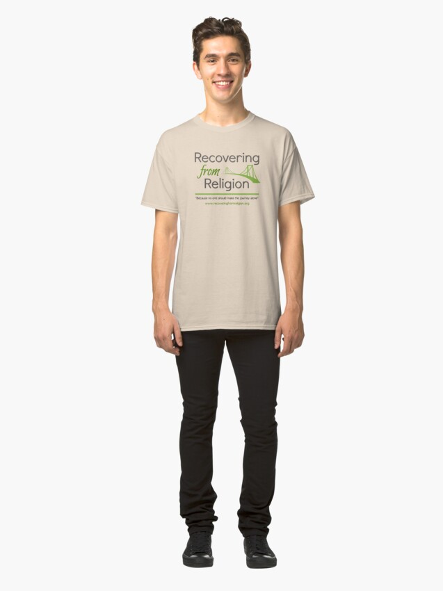 Alternate view of Recovering from Religion logo Classic T-Shirt