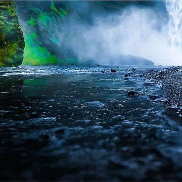 waterfall by MeshalOH