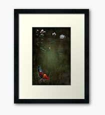 """Rustle Continued ....he felt as though he was being watched..."" Framed Print"