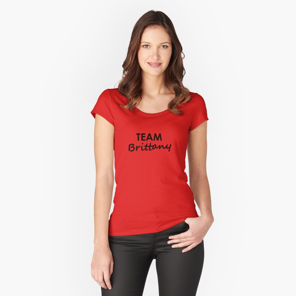 Team Brittany - Clothing Fitted Scoop T-Shirt