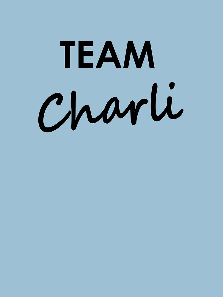 Team Charli - Clothing by embourne