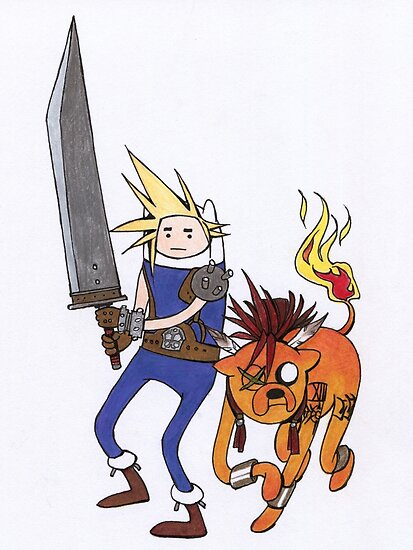 FF7 Time! by character undefined