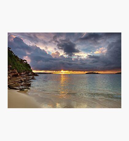 Bay Sunset Photographic Print