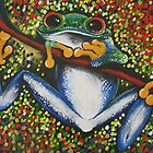 Frog Fiesta by Sally Ford