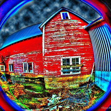 Psychadelic Barn by claytonbruster