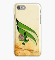 Arabic Calligraphy - Rumi - Light iPhone Case/Skin