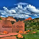Garden of the Gods and Pikes Peak by Gregory Ballos