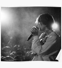 Lil Peep Performance Poster