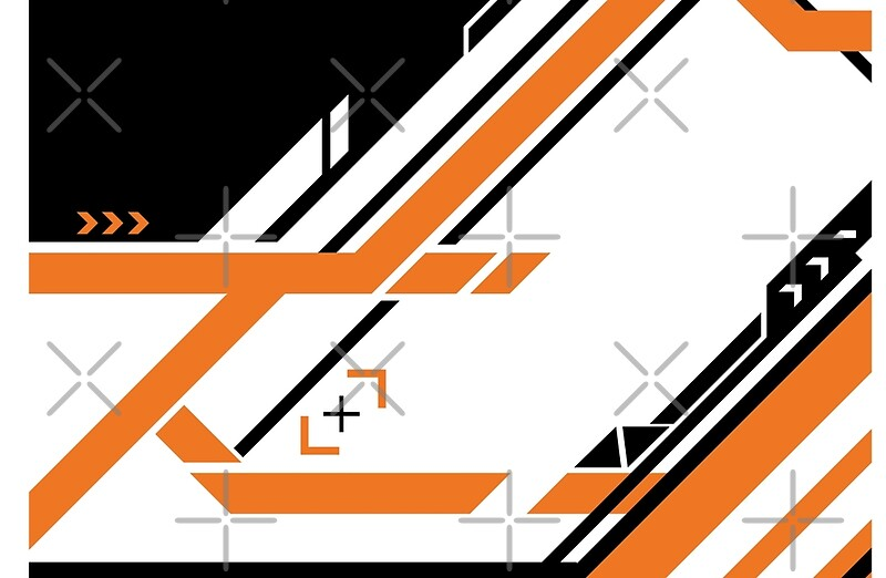 csgo asiimov pattern laptop skins by archanor redbubble. Black Bedroom Furniture Sets. Home Design Ideas