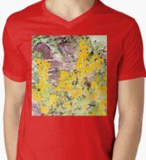 English cottage garden Men's V-Neck T-Shirt