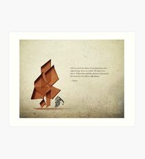 Arabic calligraphy - Rumi - Beyond Art Print