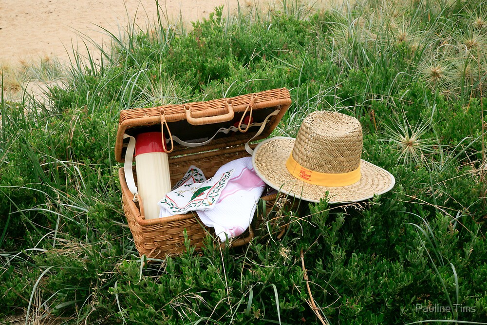 Picnic on Morninton Beach by Pauline Tims