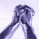 Abstraktes Gebet II von Robert S. Lee von robertsleeart