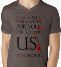 It's Beautiful, Hannibal Men's V-Neck T-Shirt