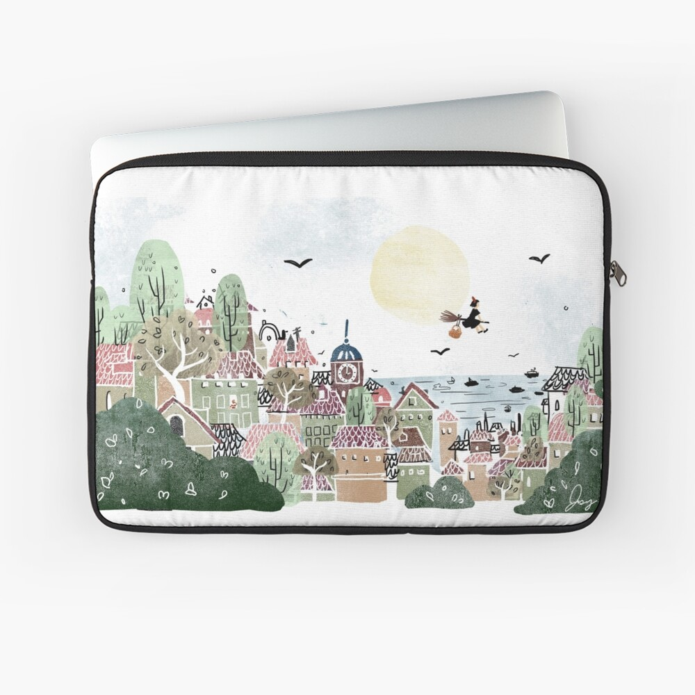 Just Another Delivery Laptop Sleeve