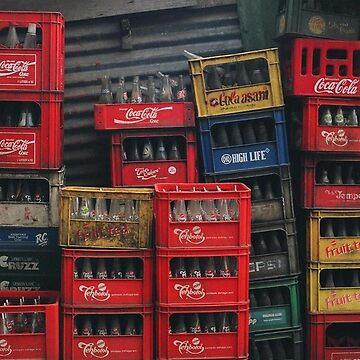 Cola Crates by Mezoti