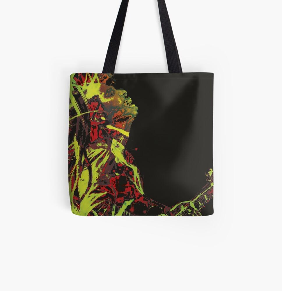 Reggae All Over Print Tote Bag