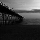 Kure Beach Pier Triptych III by mojo1160