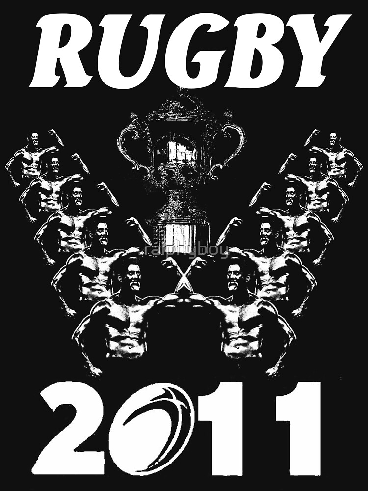 rugby world cup t-shirt by ralphyboy
