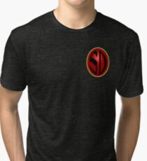 Search/Destroy Agency Badge Tri-blend T-Shirt