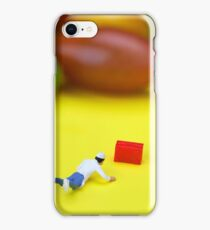 Chef Tumbled In Front Of Colorful Tomatoes miniature art iPhone Case/Skin