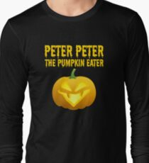 Peter Peter Pumpkin Eater Costume Long Sleeve T-Shirt