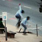Skateboarder by Benjamin Sloma