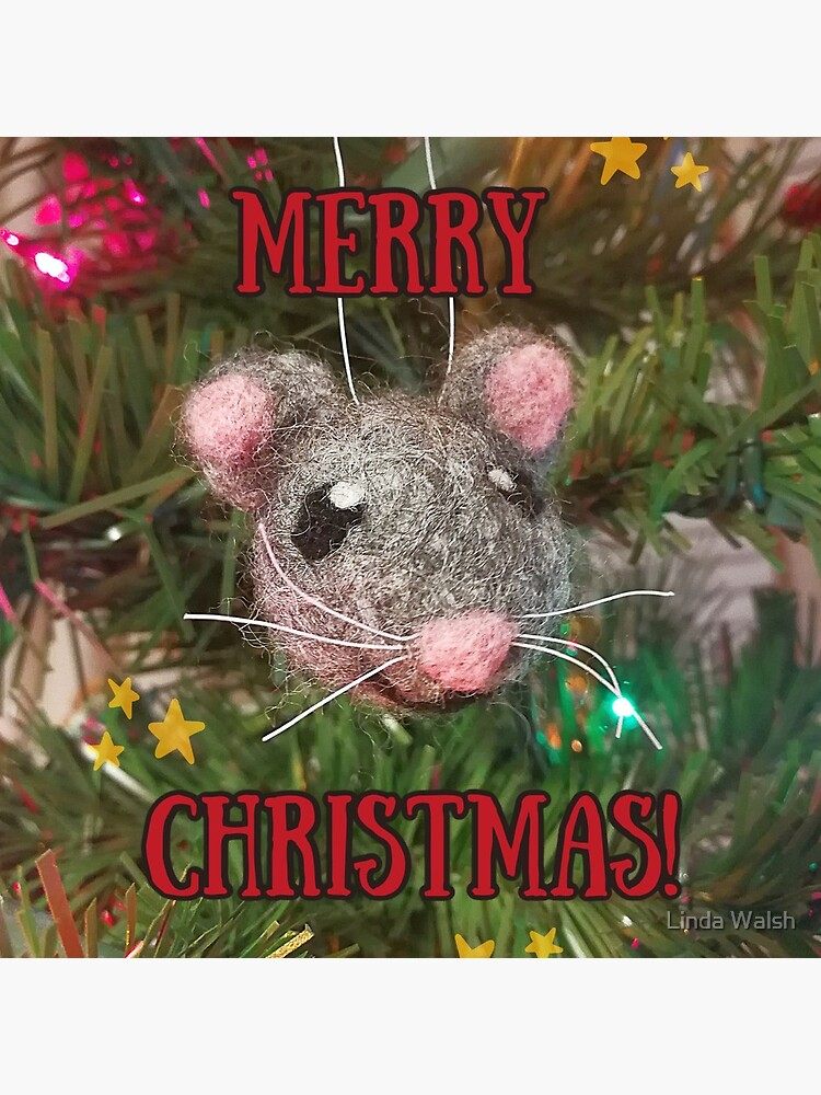 Merry Christmas Mouse by Covecritters