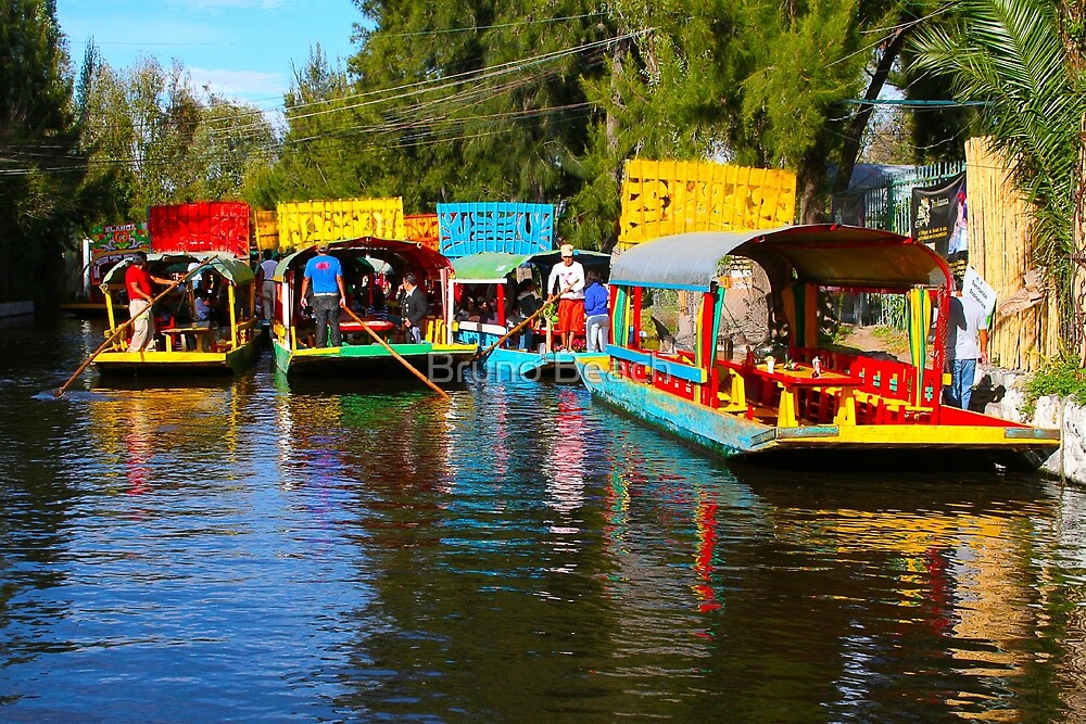 Xochimilco's Floating Gardens in Mexico City by Bruno Beach