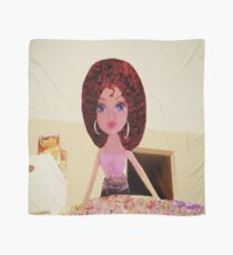 CUTE DOLL BAKING CAKE KIDS APPAREL>>PILLOWS,JOURNAL,BOOKS,TOTE BAG,SKIRT,SCARF,ECT. Scarf