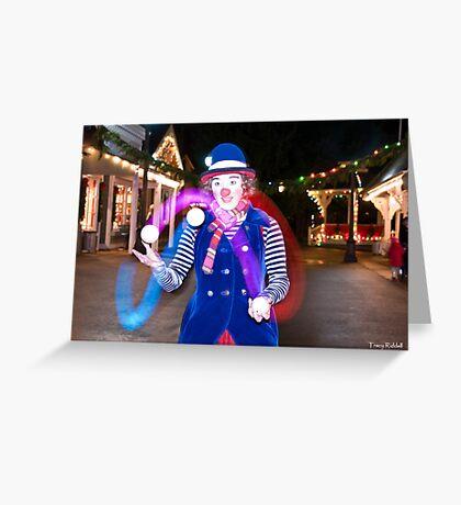 Cosmo-a-glow Greeting Card