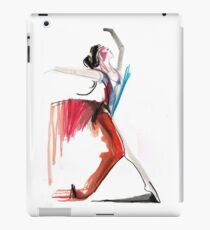 Expressive Ballerina Dance Drawing iPad Case/Skin