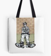 Harold Lloyd One of Those Days Drawing Tote Bag