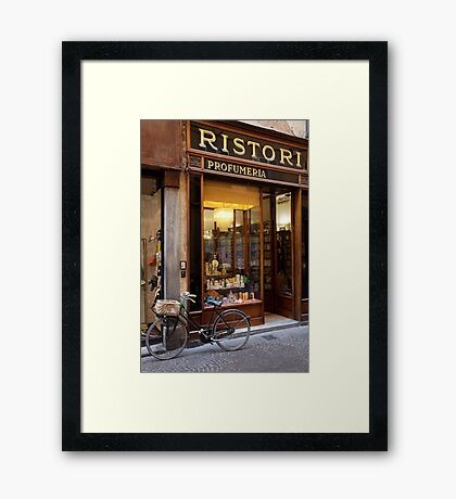 cityscapes #161, profumeria  Framed Print