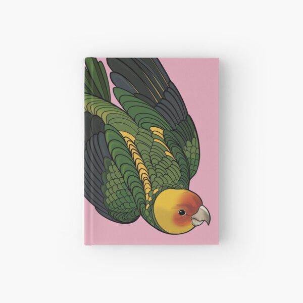 Parakeet! Pink Hardcover Journal