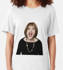 Patti Lupone in your face Slim Fit T-Shirt