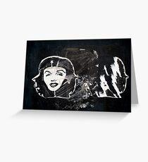 Che Guevara Hat Greeting Card