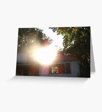 Sunshine Heart Greeting Card