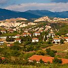 Bulgarian Village Panorama by Nickolay Stanev