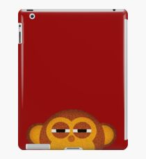 Pocket monkey is highly suspicious iPad Case/Skin