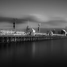 Cunningham Pier Mono Panorara  by peterperfect