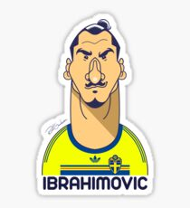 Zlatan Sweden Sticker