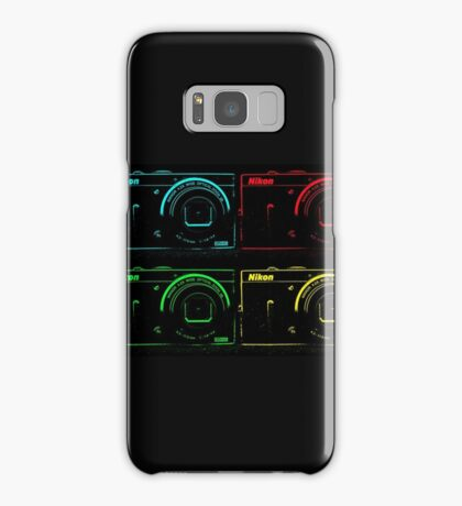 Nikon x 4 (PopArt) Samsung Galaxy Case/Skin
