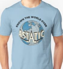 Astatic Known The World Over Logo T-Shirt