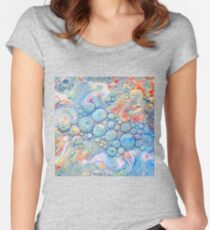 Abstraction #B Fitted Scoop T-Shirt