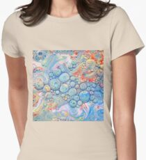 Abstraction #B Fitted T-Shirt