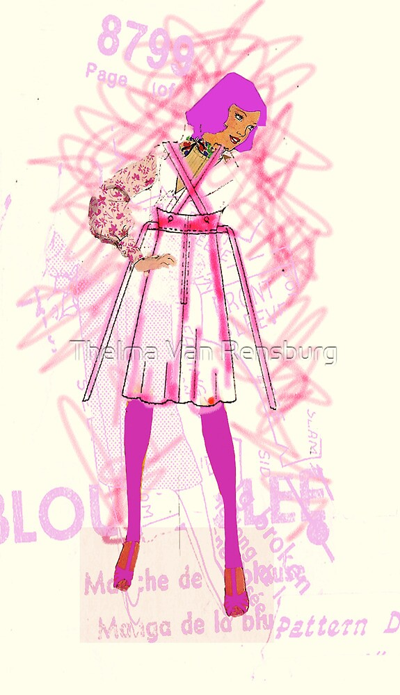 pink lady, 2010 by Thelma Van Rensburg