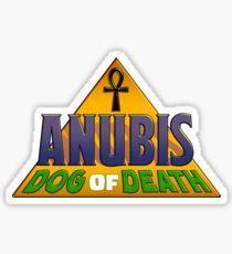 'Anubis: Dog of Death' Logo Sticker